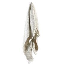 Ivory Freya Chunky Hand-Woven Throw