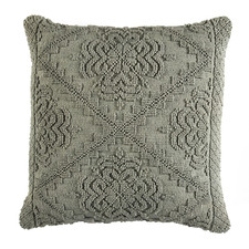 Sage Edie Hand-Loomed Cotton Cushion