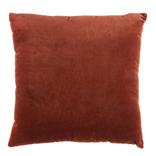 Rust Minnie Velvet Cushion