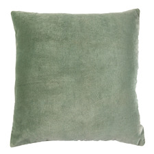 Sage Minnie Velvet Cushion