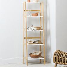 Zoe 5 Tier Scandi Style Shelf