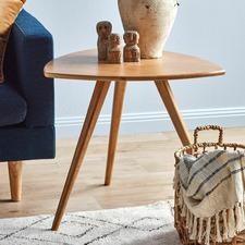 Oscar Solid Oak Side Table