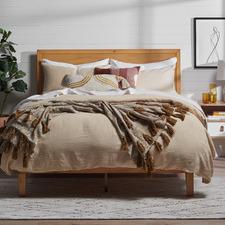 Natural Beckham Wooden Bed