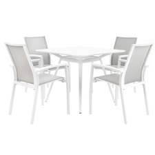 4 Seater Ellery Aluminium Outdoor Dining Set