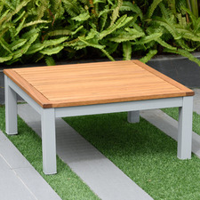 Natural Maui Wooden Outdoor Coffee Table