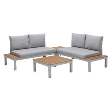 4 Seater Maui Outdoor Modular Lounge & Coffee Tables Set