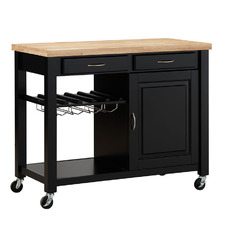Chelsea Wooden Kitchen Island Trolley