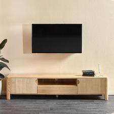 Eve Solid Timber Entertainment Unit