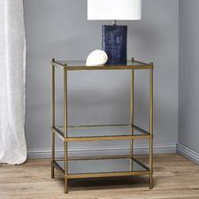 Francesca Glass Side Table