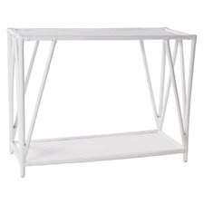 Umiko Rattan Console Table