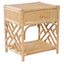 Masika Rattan Bedside Table