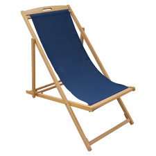 Belize Wooden Outdoor Deck Chair