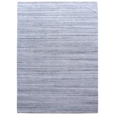 Grey Ava Hand-Woven Wool Blend Rug