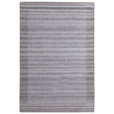 Grey Marlo Hand-Woven Wool Blend Rug
