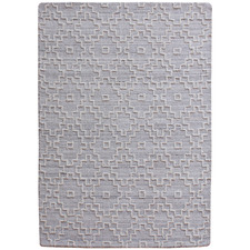 Grey Alfie Hand-Tufted Wool-Blend Rug