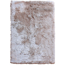 Ivory Bronte Table-Tufted Shag Rug