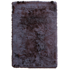Charcoal Bronte Table-Tufted Shag Rug