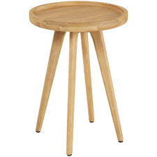 Cove Acacia Wood Outdoor Side Table