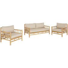 4 Seater Costa Rica Acacia Wood Outdoor Lounge Set