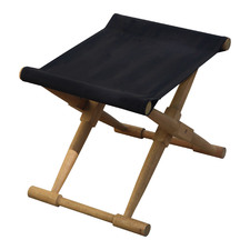 Belize Wooden Outdoor Foldable Footstool