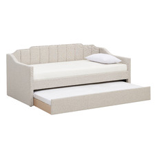 Oat Charlotte Single Sofa Daybed with Trundle