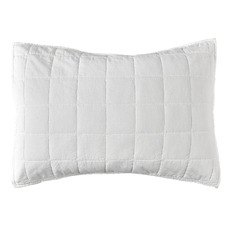 White Washed Cotton Pillowcases (Set of 2)
