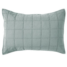 Blue Washed Cotton Pillowcases (Set of 2)