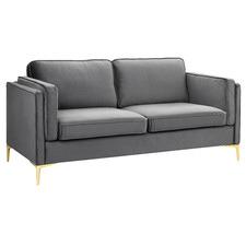 Coco Premium 3 Seater Velvet Sofa