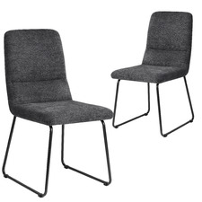 Grey Mezzo Dining Chairs (Set of 2)