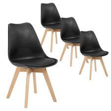 Natural Oak Nova Dining Chairs (Set of 4)