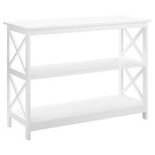 White Noosa Console Table