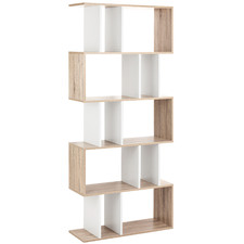 5 Tier Ellista Puzzle Bookcase