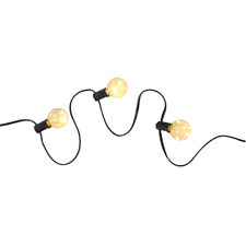 Black Copper Wire Festoon Lights