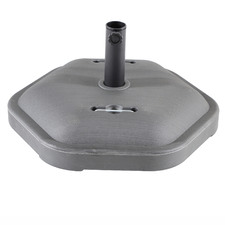 Grey Bahamas Cement Market Umbrella Base
