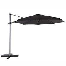 3m Black Coast Aluminium Cantilever Umbrella