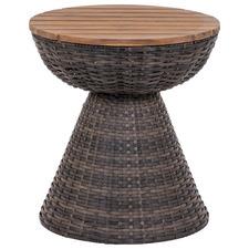 Vesta Poly Rattan Alfresco Side Table