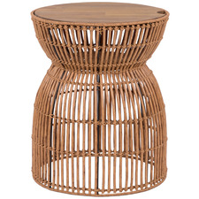 Cinch Poly Rattan Alfresco Side Table