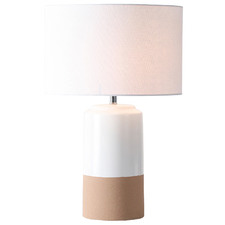 Dipped Ceramic Table Lamp