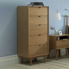 Olsen 5 Drawer Tallboy