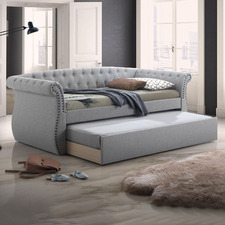 Windsor Chesterfield Single Sofa Daybed with Trundle