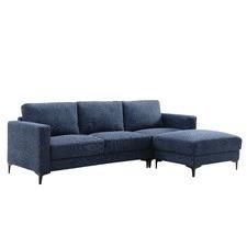 Alexis 3 Seater Corner Sofa with Ottoman