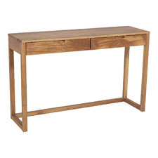 Olwen Oak Wood Console Table