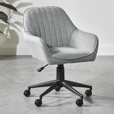 Grey Kinsey Fabric Office Chair