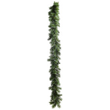 270cm Charming Frosted Spruce Garland
