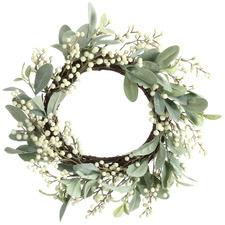 55cm Light Green Eucalyptus Wreath