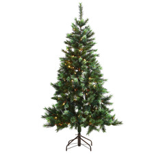 180cm Natural Legacy Pre-Lit Christmas Tree