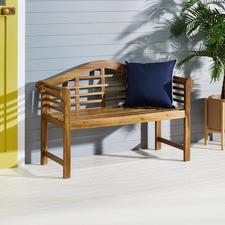 2 Seater Natural Lantana Acacia Garden Bench