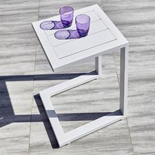 Felix Aluminium C Shape Outdoor Side Table