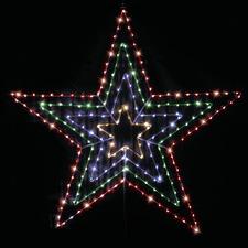 77cm LED Hanging Star Light