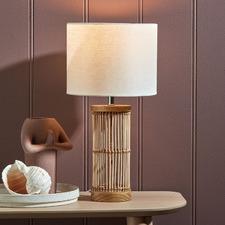 Ember Rattan Table Lamp